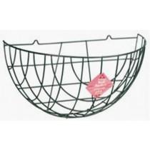 Traditional Metal Wall Basket 40 cm