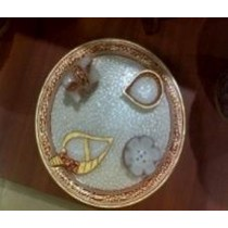 Traditional Pooja Plate Set