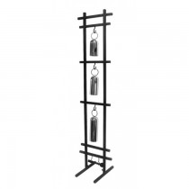 Triple Tubular Hanging Steel Gong With Stand