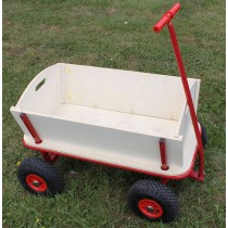 Trolley Wheel barrow with 4  Wheels