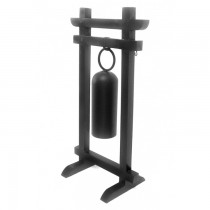 Tubular Small Iron Hanging Gong With Stand