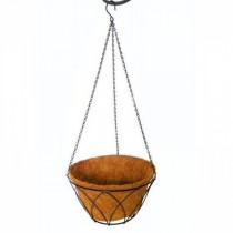 Tulip Design Metal Hanging Basket