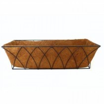 Tulip Design Metal Window Planter