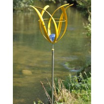 Tulip Design Solar Stainless Steel Weathervanes