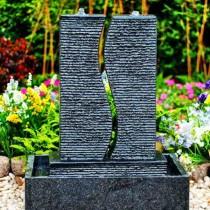 Twins Fountain Black-60x40x75cm