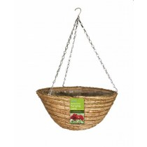 Two Color Rope Hanging Basket
