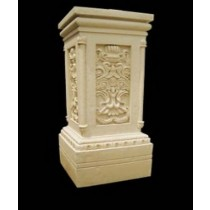 Unique Artificial Sandstone Pillar Style Pedestal