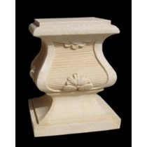 Unique Artificial Sandstone Roman Small Pedestal