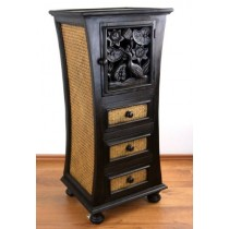 Unique Carving Handmade Cabinet With Drawer