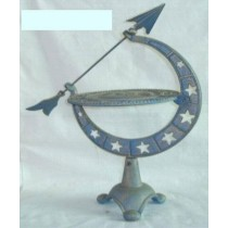 Unique Cast Iron Sundial