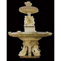 Unique Decorative Multiple Pattern Pillar Fountain