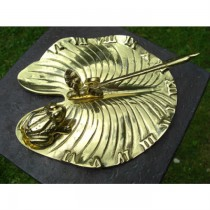 Unique Design Brass Polished Garden Sundial