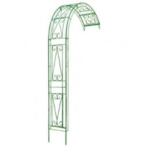 Unique Design Green Finish Metal Obelisks
