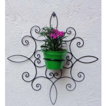 Unique Design Wall Bracket with Bucket Planter