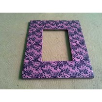 Unique Hand Work Game Pattern Wooden Photo Frame