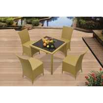 Unique Modular PE Rattan Dinning Set