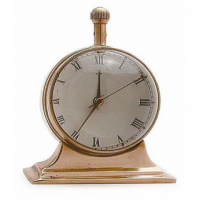 "unique Paper Weight Clock On Stand, 3"" X 2.5"" X 2"""