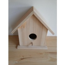 Unique Shape With High Quality Fir Wood Bird House
