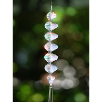 Unique Spiral Hanging Sun Catcher