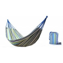 Vibrant Multicolored Single Hammock With Carry Beg