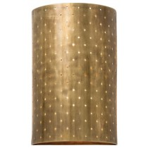 Vintage Brass Finish Wall Sconce