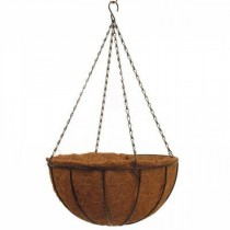 Vintage Steel Hanging Basket