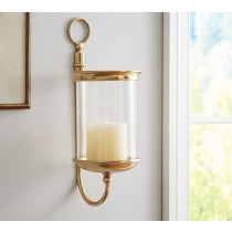 Wall Mount Hurricane Candle Sconce