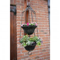 Wall Mounted Cast Iron Hanging Basket