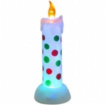 Warm White LED Acrylic Candle