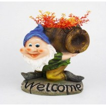 Welcome Gnome Planter and Feeder