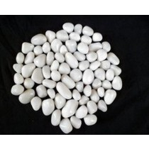 White Agate Pebbles