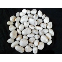 White Agate Pebbles(2 nd )
