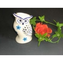 White Ceramic New Owl Shape  Oil Burner