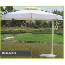 White Classic Style Garden Umbrella(Size 8 ft round)