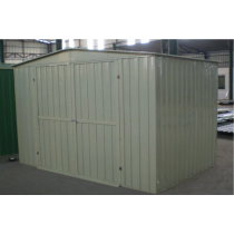 White Color Large Garden Shed