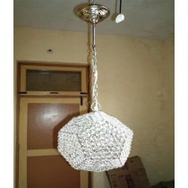 White Crystal Round Lighting
