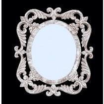 White Designer Mirror Frame