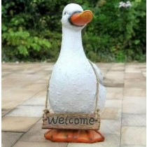White Duck Garden Welcome Message