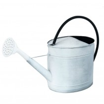 White Galvanized Steel Watering Can