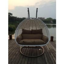 White Luxury Swing Chair
