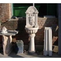 White Marble Garden Sculptures(Size 150  X 40 X 50 cm)