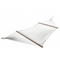 White Polyester Rope Hammock
