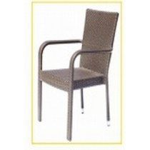 Wicker Brown Classic Restaurant Rattan Chair