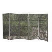 Wicker Coffee Garden Rattan  Folding Panel(5 Folding )