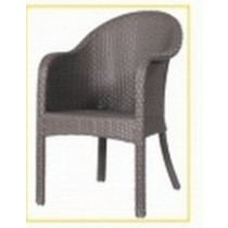 Wicker Gray Decorative Rattan Restaurant Chair