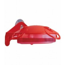 Window Mounted Plastic Red Color Bird Feeder