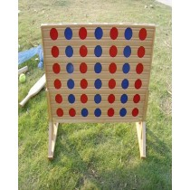 Wooden 4 in 1 games Board