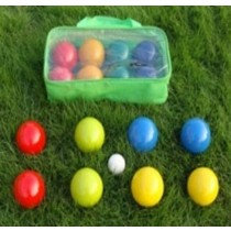 Wooden Bocce Ball Set