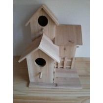 Wooden Classic Designed Fir Wood Bird House
