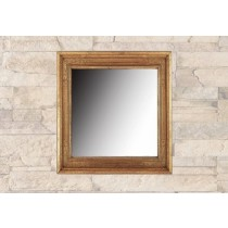 Wooden Color Wall Mirror